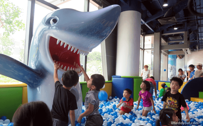 Shark Ball Pool at Pororo Park Singapore