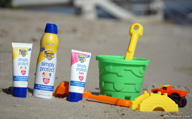 Banana Boat's New Simply Protect Sunscreen for Babies & Kids