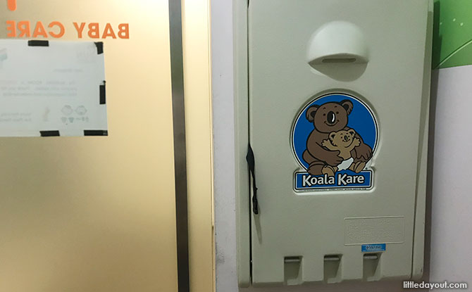 Sun Plaza Diaper Changing Room