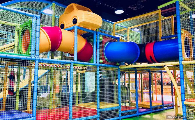 Tayo Station Indoor Playground, Singapore