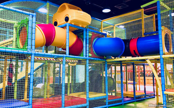 Tayo Station Indoor Playground, Singapore
