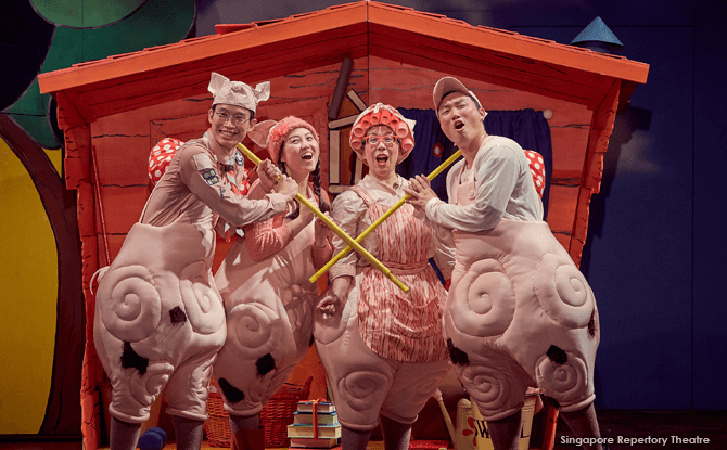 SRT's The Three Little Pigs
