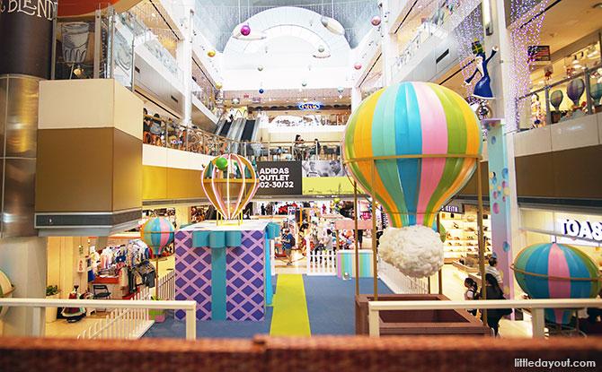 Hot Air Balloon Fiesta at Velocity@Novena Square: Main Event Area