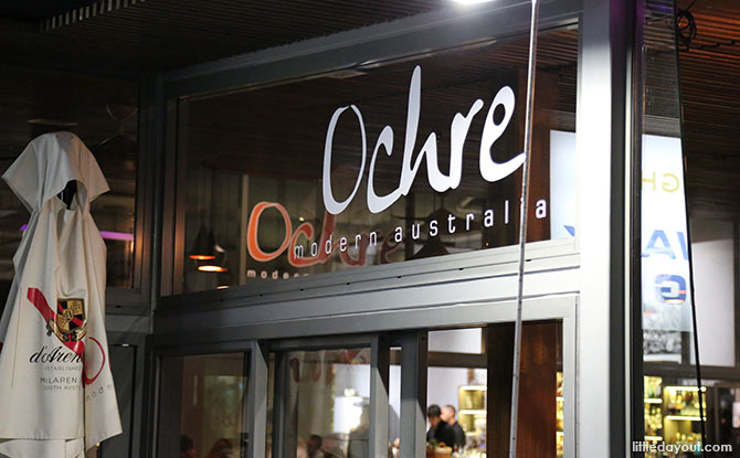 Ochre restaurant, Cairns