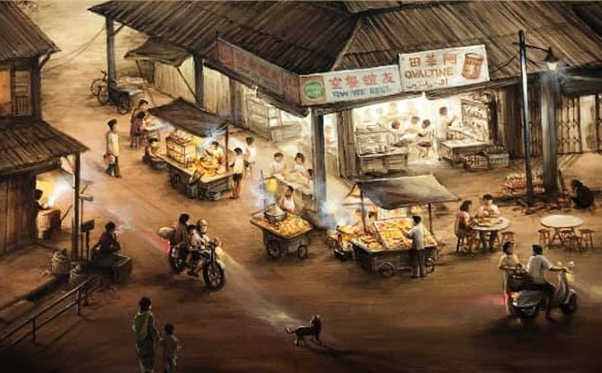 Stories from Yesteryear: Yip Yew Chong's 2nd Solo Exhibition