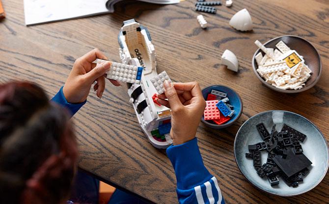 New LEGO x Adidas Superstar Sneaker