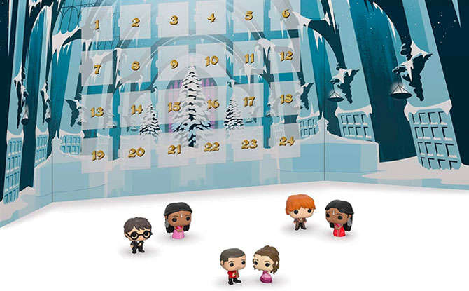 Funko POP! Pocket Harry Potter Advent Calendar, 24 Piece