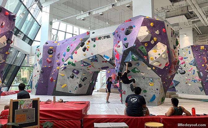 Rock Climbing, Aperia Mall