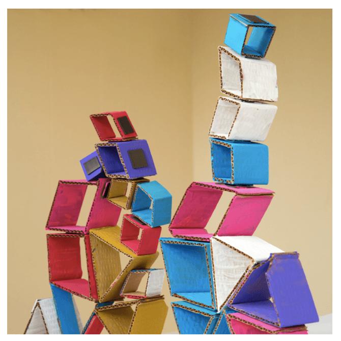 Magnetic Building Set, Artful Parent - Craft Ideas for Kids