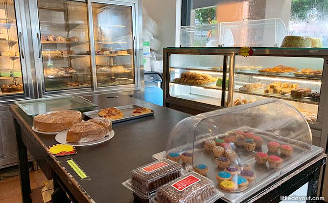 Inside Balmoral Bakery