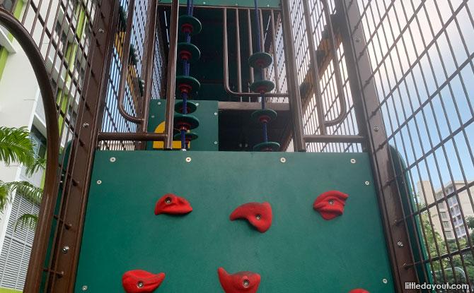 Inside the Bedok North Vale Playground