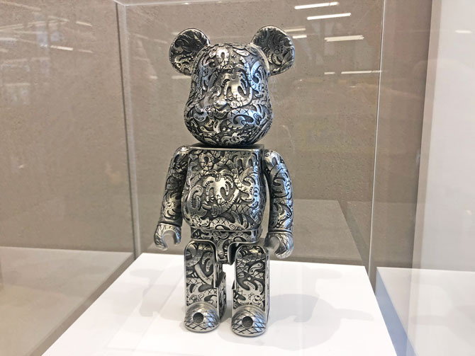 limited edition 21st Anniversary ActionCity BE@RBRICK designed by Steven Harrington