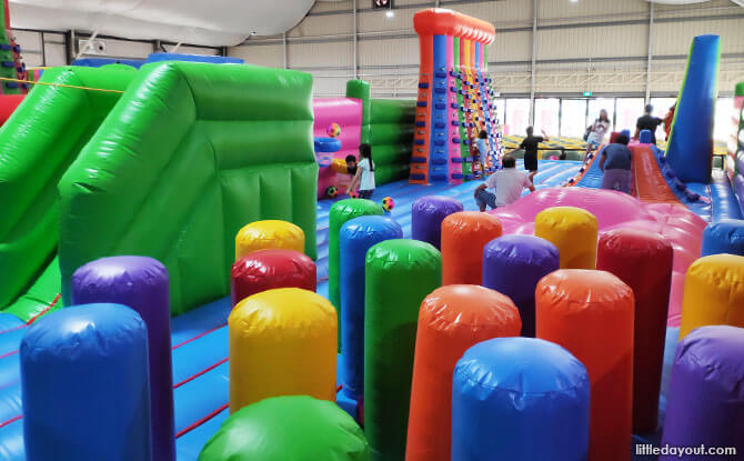 Newly Reopened Bouncy Paradise