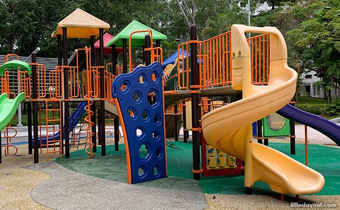 Brontosaur Park Playground Structure
