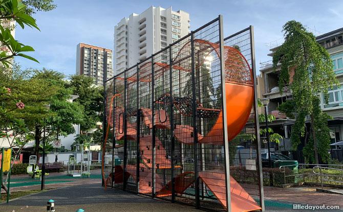 Cambridge Park Wallhola Vertical Playground