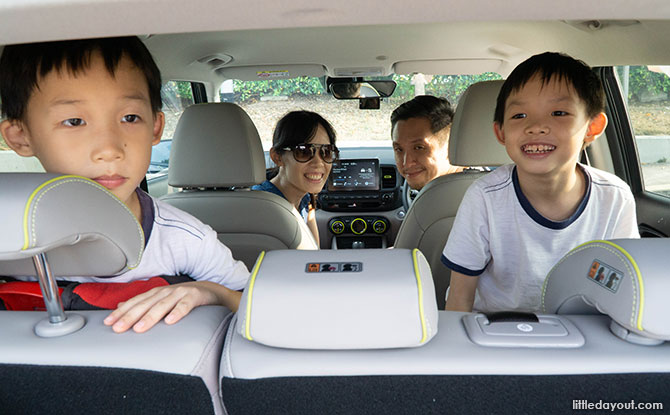 Family Road Trip in Singapore to Changi Village and Its Surrounds
