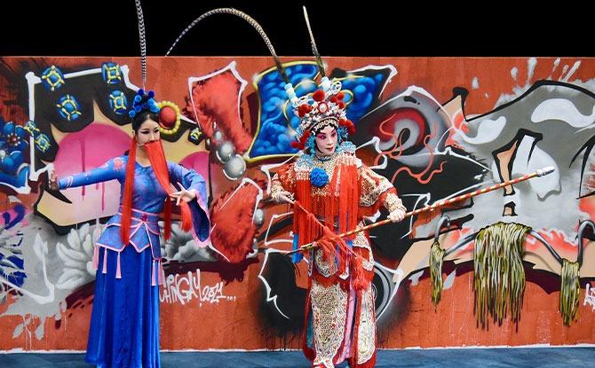 Segment 1 - Sun Ya Nan (left), Huang Ping (right)