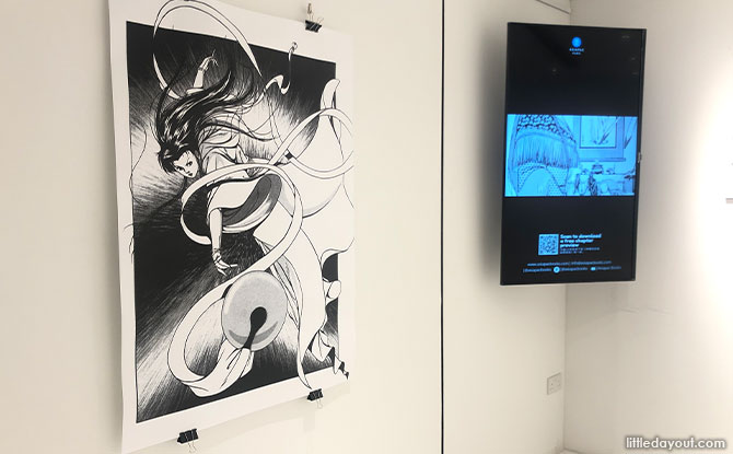 Return of the Condor Heroes Art Exhibition Opens At Wheelock For A Limited Time
