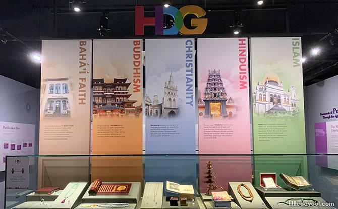 Harmony In Diversity Gallery - Religions in Singapore