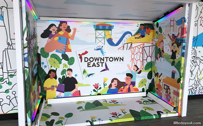 Downtown East Has A Easter Egg Room AndRefreshed Lite On Installations