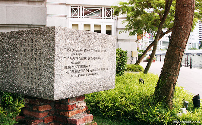 Early Founder's Memorial Foundation Stone