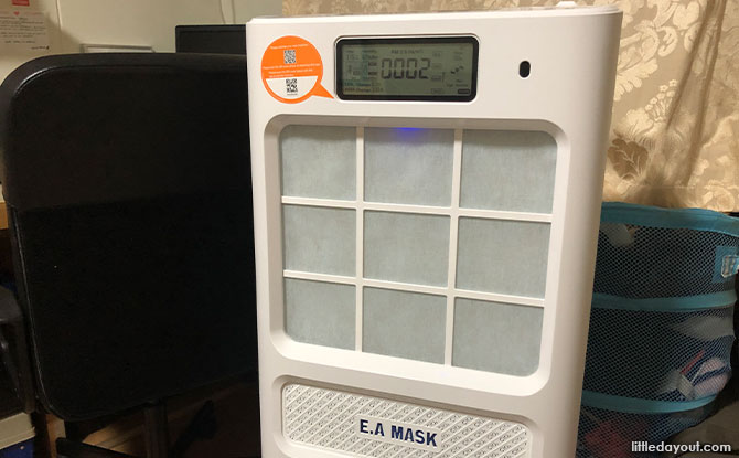 The Ecom Mask 030 Plus Disinfection Air Purifier