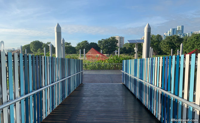 Jurong Lake Floating Wetlands: A Habitat on the Water