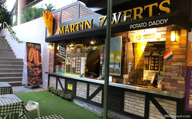 Martin Zwerts Potato Daddy: Award Winning Dutch Fries At Holland Village
