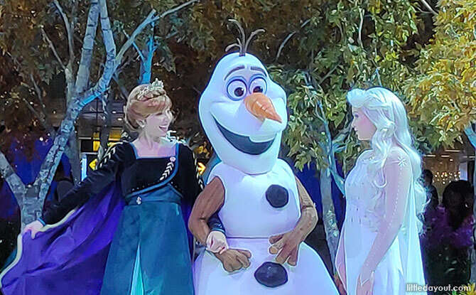 Meet & Greet Elsa, Anna & Olaf from Frozen 2