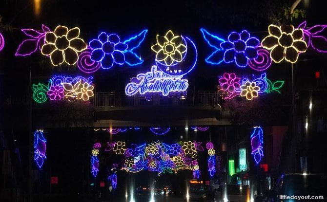 Geylang Serai Hari Raya Light Up 2021: Lights To Mark The Month Of Ramadan