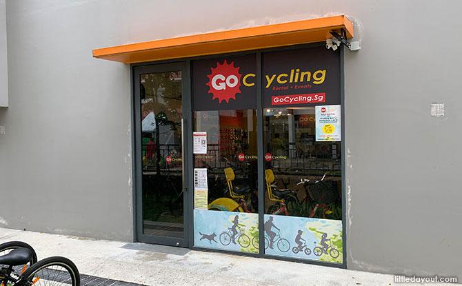 GoCycling @ Ang Mo Kio: Bike Rental at Teck Ghee Community Club - Bike Rental for Bishan Ang Mo Kio Park