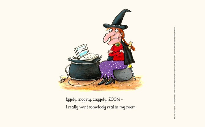 Room on the Broom gets a COVID update