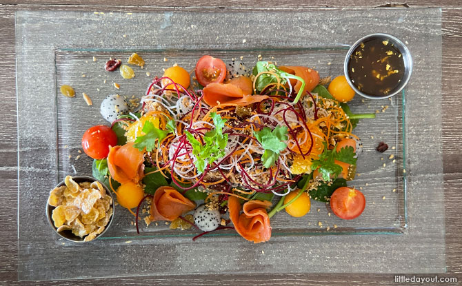 Prosperity Salmon Yu Sheng Salad