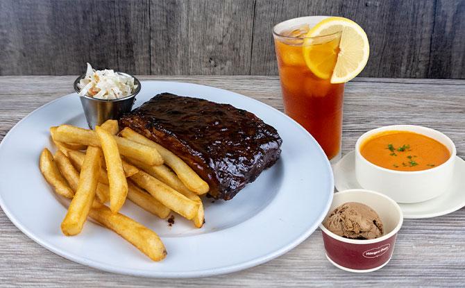 your order. Hard Rock Café $16 3-Course Set Lunch Menu