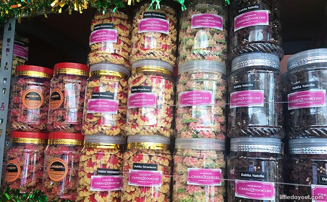 Hari Raya Cookies Dahlia Cookies