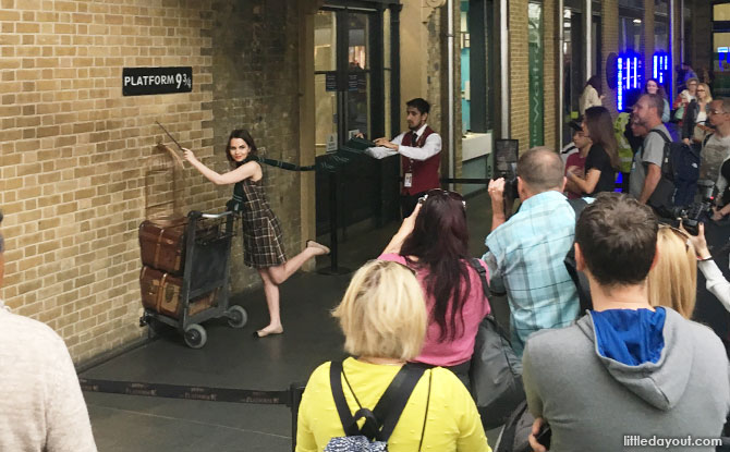 The Harry Potter Shop, Kings Cross, London, Platform 9 ¾