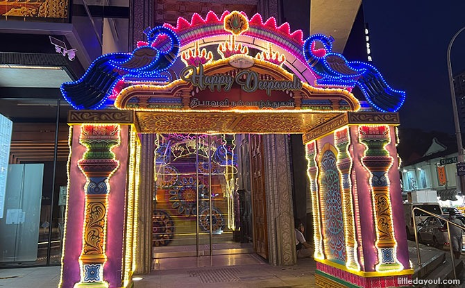 Miniature Light Up Replica at Indian Heritage Centre