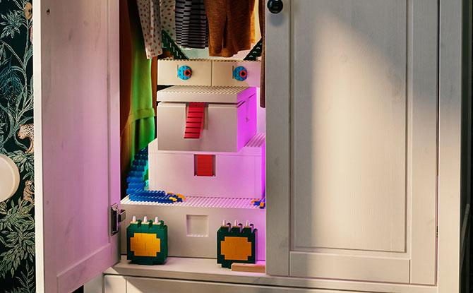 BYGGLEK: IKEA-LEGO Collaboration on LEGO Storage