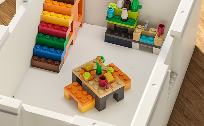 What's in IKEA's BYGGLEK collection (besides a LEGO Set)