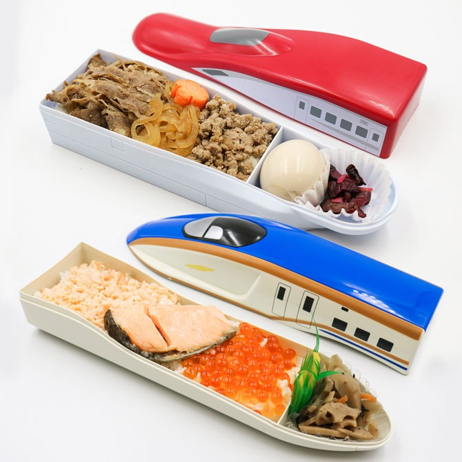 The Japan Rail Fair Bento (autum rail travel ekiben)