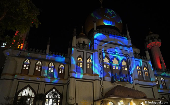 Kampong Glam Light Up 2021, Sultan Mosque