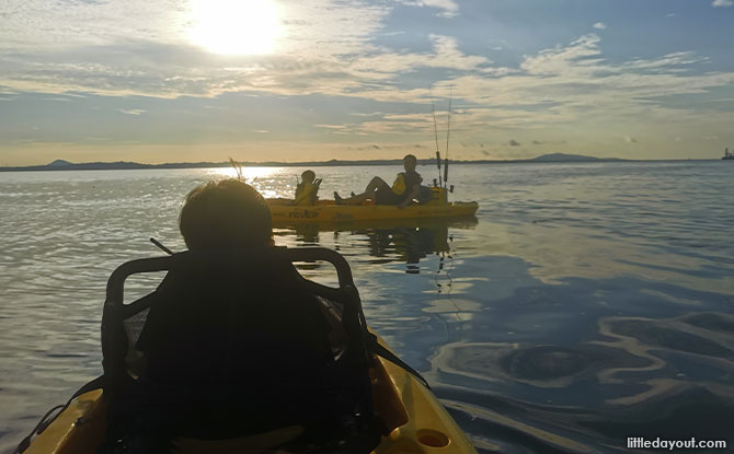 The Experience Kayak Fishing with Family