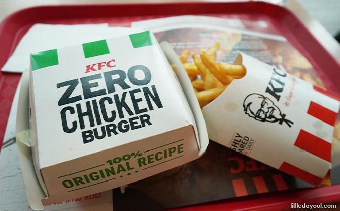 Taste Test: KFC Zero Chicken Burger Review