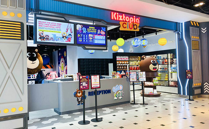 Kiztopia Club Jurong Point: Outer Space
