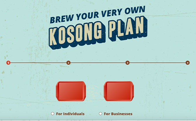 How to make the Kosong Plan
