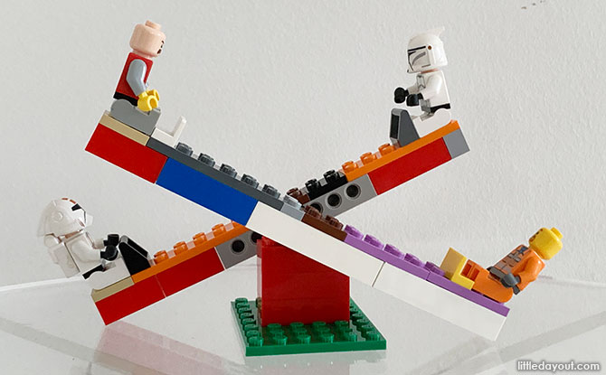LEGO Seesaw Instructions Build