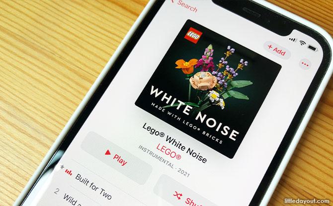 lego white noise playlist
