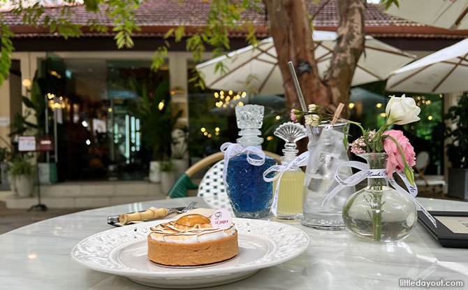 Le Jardin: Dine Amongst The Flowers At Fort Canning