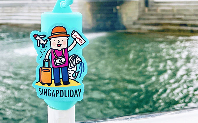 Lifebuoy Unveils National Day Themed Hand Sanitisers Including A Cute WFH Design