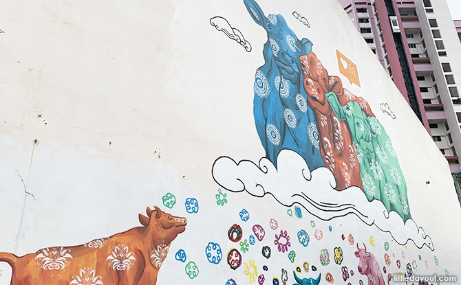 Cattleland 2 - Little India Art
